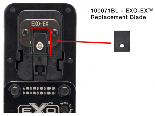 EXO-EX Die Replacement Blade