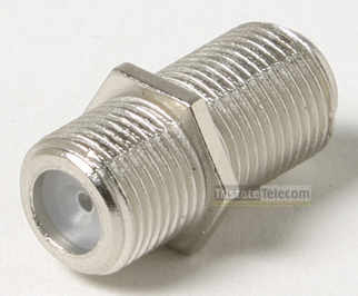 Connector F Barrel (10 PK)