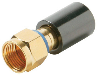 Connector Mini RG59 F (10 Pack)