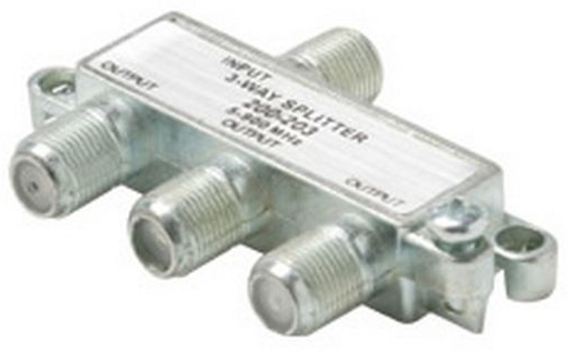 Splitter 1 X 3 Mini F 5-900 MHz