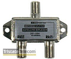 Diplexer 5-2400 MHZ TV-Satellite Mini