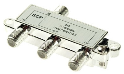 Splitter 1 X 3 F 1 GHz