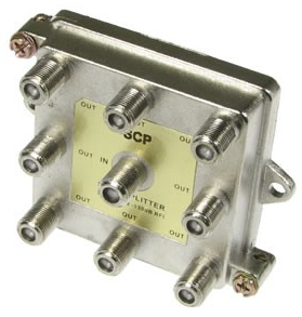Splitter 1 X 8 F 1 GHz