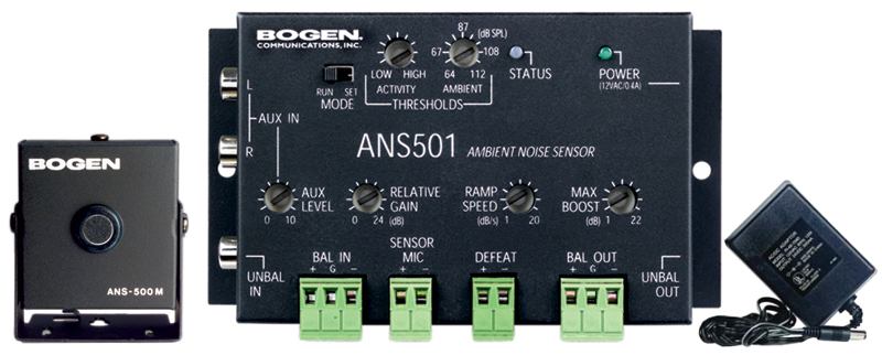 Ambient Noise Sensor w/ Power Supply & M