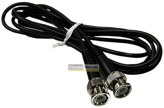 Patch Cord CCTV Coax 10'