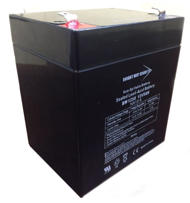 Battery 12V 5AH Sealed Lead Acid