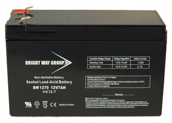 Battery 12V 7AH Sealed Lead