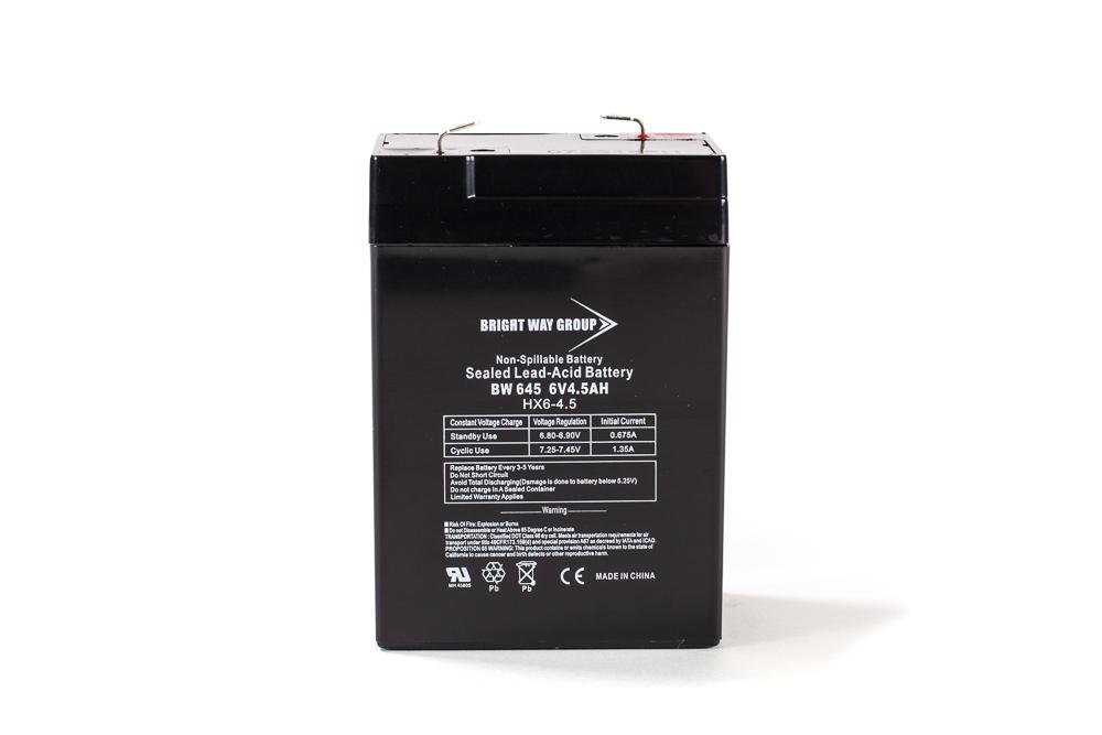 Battery 6V 4.5AH Sealed Lead
