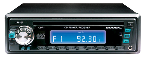 COMPACT CD PLAYER/AM/FM REC'R