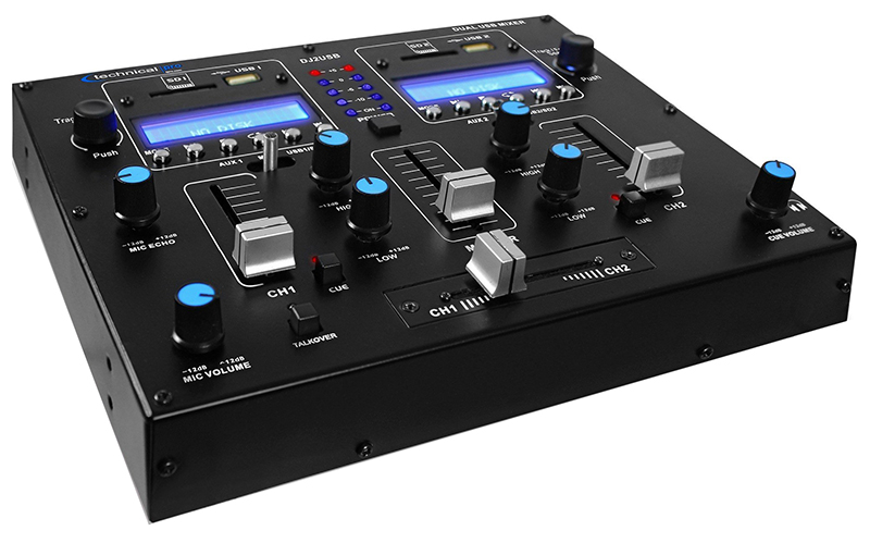 Mixer Table Top 2 Channel