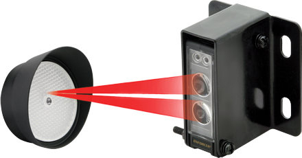 Photoelectric Beam Sensor Range: 45 Feet