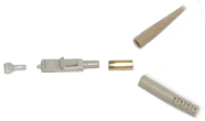 Connector Fiber SC MM Crimp Beige
