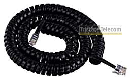 4 COND HANDSET CORD 25' BLACK