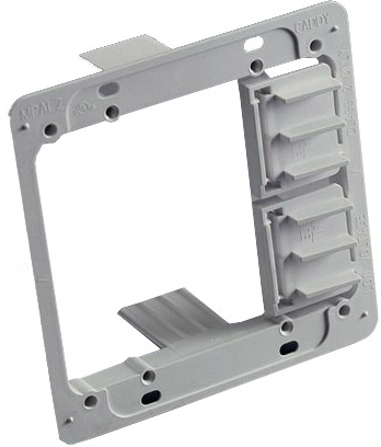 Mounting Bracket Double Gang 10 Pack