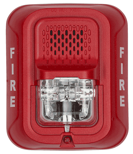 Horn Strobe Red L Series 2