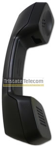 Handset Black Hearing Aid Compatible