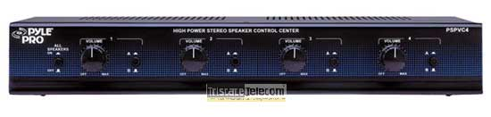 Selector Stereo Speaker 4 Way W/Volume C
