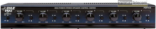 Selector Stereo Speaker 6 Way W/Volume C