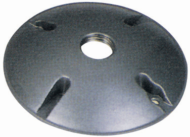 "Weatherproof Round Box Cover 1/2"" Hole"