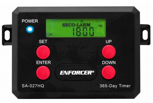 TIMER 365 DAY WITH 2 RELAY  OUTPUT