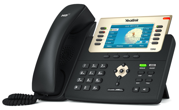 Yealink SIP-T29G Configured For Mongotel
