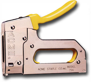"Stapler Fits Wire Up To 1/4"" Diameter"