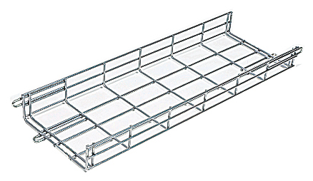 "Cable Tray 2"" H X 6"" W X 10' L Black"