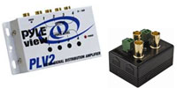 BNC Video Amplifiers & Splitters