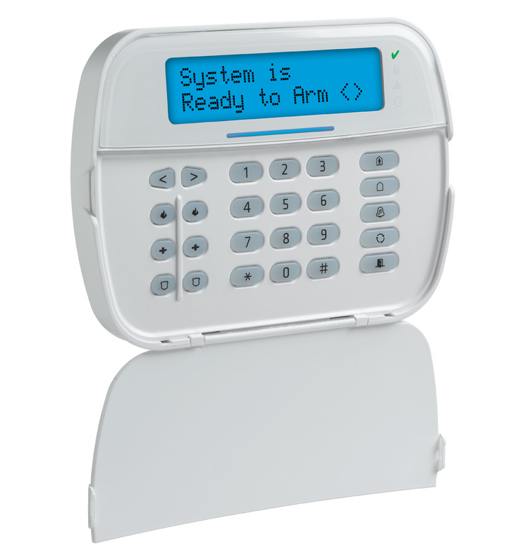 PowerSeries NEO Full Message LCD Hardwired Keypad with