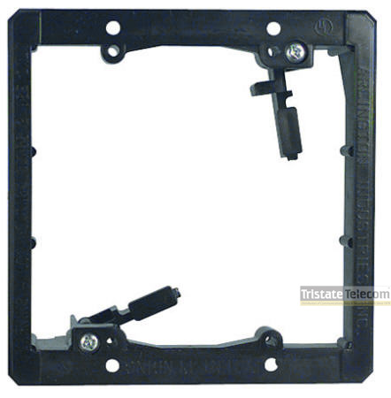 Mounting Plate 2 Gang For Drywall 5 Pack