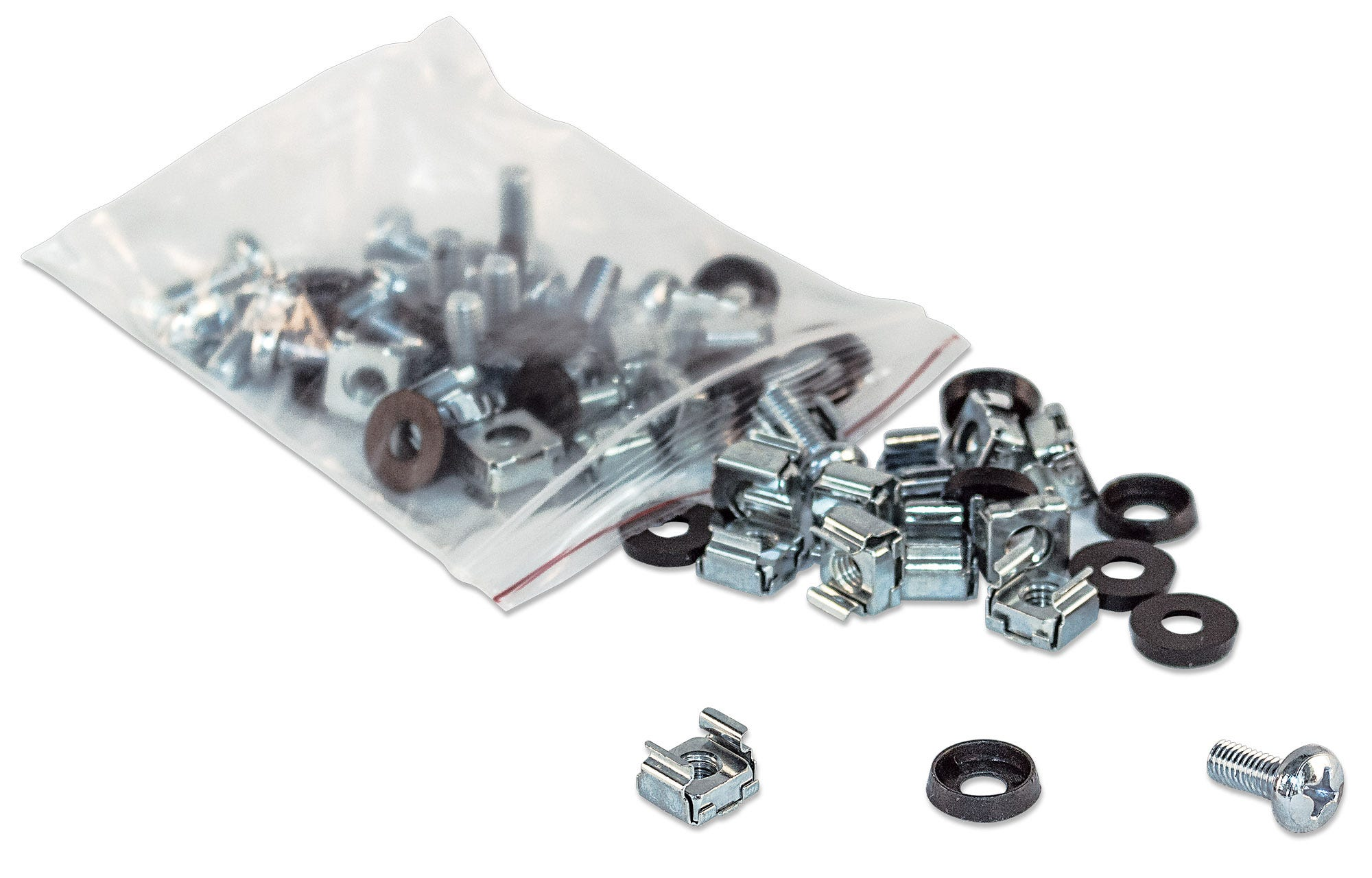 CAGE NUTS,SCREWS M6 & Washers  100 PACK