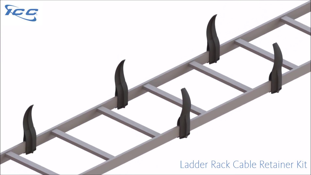 Ladder Rack Cable Retainer Kit  10-Pack